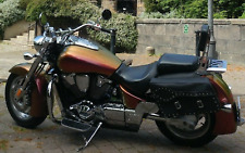 High Quality Leather Saddlebags for Harley Davidson Triumph  + INNER LINER BAGS