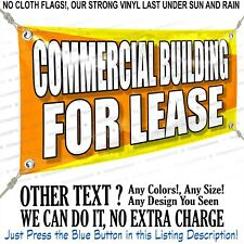 Commercial Building For Lease Custom Vinyl Banner Personalized Outdoors Sign