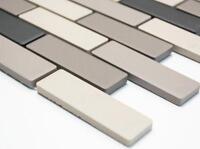 NON-SLIP GRAY unglazed Mosaic tile BRICK Ceramic WALL&FLOOR   26-0206-R10_b