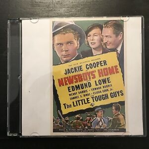 NEWSBOYS' HOME Dead End Kids DVD 1938  Jackie Cooper, Edmund Lowe, Wendy Barrie