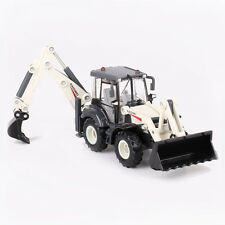 Diecast Back Hoe Loader Truck 1:50 Scale Heavy Construction Vehicle Hobby Model