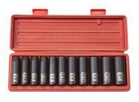 TEKTON 1/2-Inch Drive Deep Impact Socket Set, Inch, Cr-V, 6-Point, 3/8-Inch -