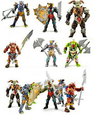 Orc Warrior Beast Angle Gladiator Wizard Action Figures Playset  Set of 6pcs