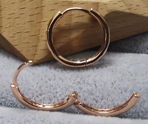 Pandora ROSE Ohrringe 286244CZ Droplets Hoop Earrings ALE R