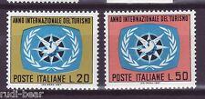 Italia N. 1243-44 ** Anno del turismo