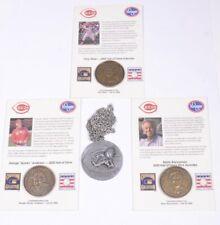 CINCINNATI RED 1975 World Champ Necklace & 3 Coins BRENNAMAN Anderson PEREZ