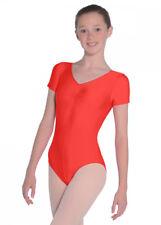 Red Jeanette Manica Corta Ballo Calzamaglia 1 (5-6 anni)