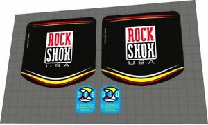 ROCKSHOX SID 1998 Fork Decal Set