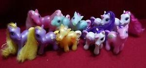 My Little Pony Lot Of 10 2005