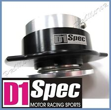 D1 SPEC 1 Gen Ball Lock System AUTHENTIC BLACK HUB Steering Wheel Quick Release