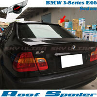 PAINTED BMW E46 3-SERIES SEDAN A TYPE ROOF SPOILER 328i 330i 99-05