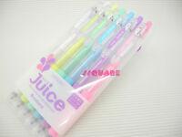 Pilot Juice 0.5mm Pastel Rollerball Gel Pen, 6 Pens Set w/ Plastic Case CP