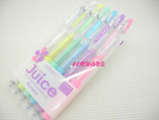 Pilot Juice 0.5mm Pastel Rollerball Gel Pen, 6 Pens Set w/ Plastic Case CP