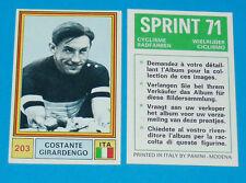 N°203 C. GIRARDENGO ITALIA PANINI SPRINT 71 CYCLISME 1971 WIELRIJDER CICLISMO