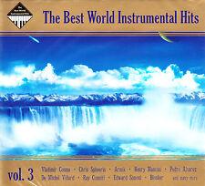 BEST WORLD INSTRUMENTAL HITS VOL 3 GOYA LAST MAURIAT COSMA 2CD DIGIPAK BRAND NEW