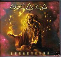 AQUARIA Luxaeterna cd ( EPIC PROG METAL W ANGRA MEMBERS