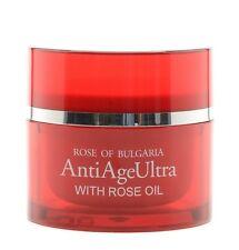 Crema viso anti eta ultra Rose of Bulgaria,con olio di rosa