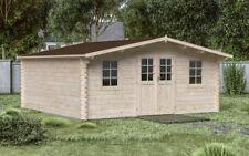 44mm Gartenhaus 600x500 cm Gerätehaus Holzhaus Holz Blockhaus Schuppen Hütte Neu
