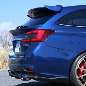 K2 Style Rear Spats/Pods For 2016-2020 Subaru Levorg/STI Sport V1 (UNPAINTED)