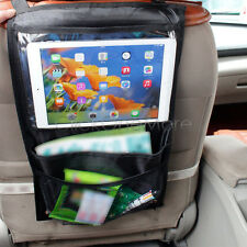 Car Back Seat Hanging Tablet Pocket Storage Organizer for iPad Galaxy Tab
