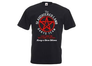 The Slaughtered Lamb Darts Team-An American Werewolf in London 80s Movie T-Shirt