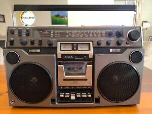Vintage AIWA TPR-950e Boombox Cassette Player Recorder Multiband Radio AM FM SW