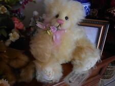 """Absolutely gorgeous and OOAK BUTTERCUP Mohair bear by Hager Bears 14"""""""