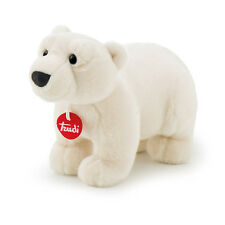 Peluches Trudi orso polare PLACIDO 28 cm Top quality made in Italy