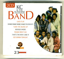 KC & THE SUNSHINE BAND 2 CD DOUBLE LIVE GREATEST HITS Disco Dance funk SIGILLATO