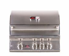 """Bonfire 3 Burner Stainless Steel Built-In Drop-in BBQ Grill - 28"""""""