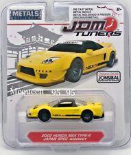 JADA DIECAST METALS JDM TUNERS 2002 HONDA NSX TYPE-R JAPAN SPEC WIDEBODY