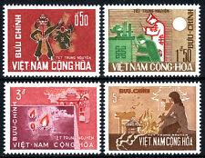 Viet Nam South 283-286, MNH. Wandering Souls Festival, 1966
