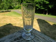 Piel Bros. Real Lager Beer Pre-Pro Beer Glass - Piel's - Brooklyn, East Ny Nyc