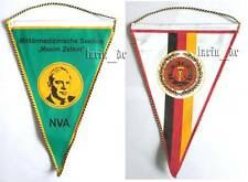 DDR NVA Tisch - Fahne Wimpel Militär Medizin East german army flag for table GDR