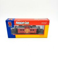 HO Scale Life-like Trains Car #8552 Caboose AT&SF w/ Box