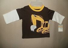 Carters Baby Boys Crawler Loader Long Sleeve layered look Size 12 Months Nwt