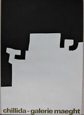 Eduardo Chillida Gallery Maeght 1973 Exhibition Poster Lithograph Original