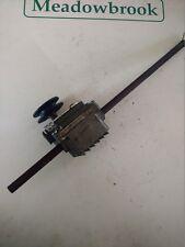 "17"" Nanini (Mountfield spec.) Self-drive Mower Gearbox cw pulley"