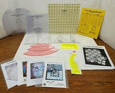 Quilting Templates, Tri Tool, Cutting Arc, Cross Cut And More