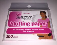 Swisspers 100 Sheet Blotting Paper Oil Absorbing Sheets New Sealed Skin Care
