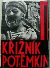 Potemkin Battleship / Kriznik:  F. Slang, 1926;  film by Eisenstein, Czech publ.