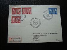 SUEDE - enveloppe 22/9/1961 (cy35) sweden