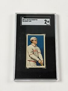 1909-11 Tolstoi Cigarettes T206 Harry Lord Baseball Card SGC