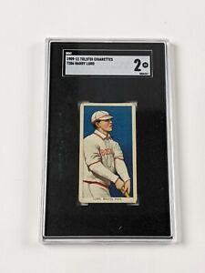 1909-11 Tolstoi Cigarettes T206 Harry Lord Baseball Card SGC