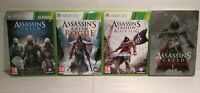 Assassin's Creed Heritage Collection/Blag Flag/ Rogue XBOX 360 -PAL + Steelbook