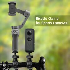 Bicycle Clip Holder For Bike Handlebar For 360 Camera For Travelling Outdoor