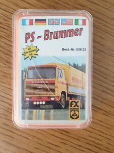 Quartett Kartenspiel FX Schmidt PS-Brummer 70er Jahre Rar Vollständig M