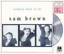 "SAM BROWN - 3"" Maxi-CD - WALKING BACK TO ME / TENDER HEARTS"