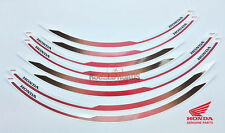OEM Honda Wheel Stripe Set CRF Rally Red (R334) - CRF1000 - 08F70MJPF50ZA