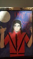Halloween Art Michael Jackson Vampire